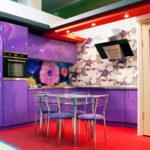 цвет-металлик, стиль-модерн, угловая, кухня Сирена