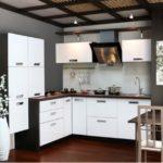 цвет-белый, стиль-модерн, угловая, кухня Капри