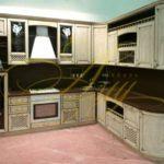 цвет- белый, стиль- классический, тип- угловая, кухня классическая К06