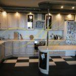 цвет- белый, стиль- классический, тип- угловая, кухня классическая К25